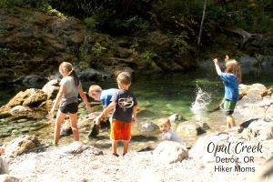 Opal Creek Hiker Moms