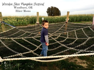 Wooden Shoe Pumpkin Festival Hiker Moms