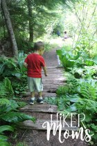 Hiker Moms Hiking Trail Lost Lake Resort Hood River ORegon 2