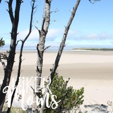 Clay Myers Trail at Whalen Island Park Clarence Oregon Coastal Hikes Beautiful Beach