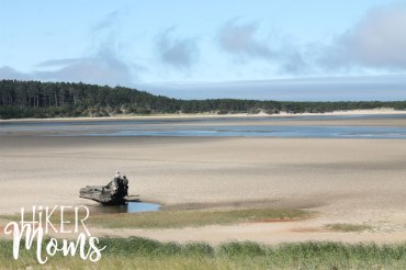 Clay Myers Trail at Whalen Island Park Cloverdale Oregon Coastal Hikes sand and stone Beautiful Beach fields for days