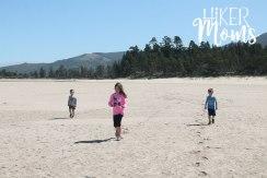 Clay Myers Trail at Whalen Island Park Cloverdale Oregon Coastal Hikes kids Beautiful Beach fields for days