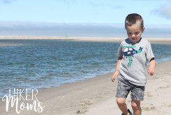 Clay Myers Trail at Whalen Island Park Cloverdale Oregon baby boy Coastal Hikes Beautiful Beach fields for days