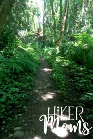 Maple Ridge Trail Estacada ORegon Milo McIver STate Park HIker Moms narrow path