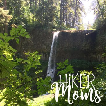 Hiker Moms Twin Falls Silver Falls State Park Silverton Oregon OR