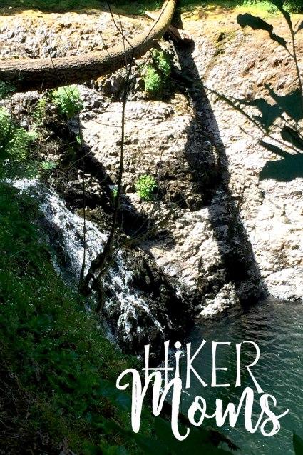 Hiker Moms Silver Falls State Park Silverton Sublimity Oregon Twin Falls Upper North Falls Middle North Falls Winter Falls hike Kids waterfall
