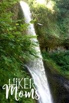 Hiker Moms Silver Falls State Park Silverton Sublimity Oregon Twin Falls Upper North Falls Middle North Falls Winter Falls hike Kids large water falls