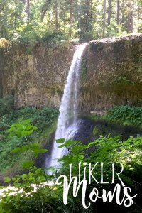 Hiker Moms Silver Falls State Park Silverton Sublimity Oregon Twin Falls Upper North Falls Middle North Falls Winter Falls hike Kids middle falls waterfall