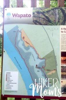 Virginia Lake Sauvie Island Portland Oregon Hiker Moms Hike Oregon Hiking kids trail feature map