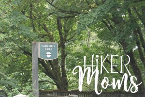 Latourell Falls Portland Oregon Hiker Moms Sign Salem Hike