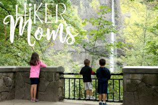 Latourell Falls Portland Oregon Hiker Moms Sign Salem Hike view