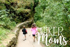 Latourell Falls Short Hike Portland Oregon Hiker Moms Hike Trails Outdoors kids children hike