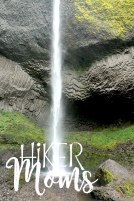 Latourell Falls Short Hike Portland Oregon Hiker Moms Hike Trails Outdoors amazing waterfall
