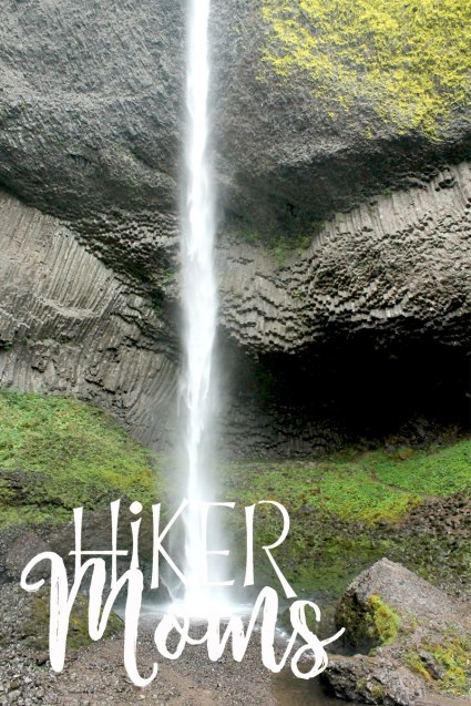 Latourell Falls Short Hike Portland Oregon Hiker Moms Hike Trails Outdoors amazing waterfall