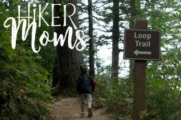Latourell Falls Portland Oregon Hiker Moms Sign Salem Hike loop trail
