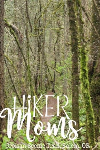 Croisan Scenic Trail, bridges, moss, Salem, Oregon, paved trail, wooded, trees, HikerMoms, Easy, Hikes, kids, Strollers, Mushrooms, worms