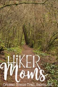 Croisan Scenic Trail, bridges, Salem, Oregon, paved trail, wooded, trees, HikerMoms, Easy, Hikes, kids, Strollers, Mushrooms, worms