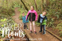 Croisan Scenic Trail, bridges, Salem, Oregon, paved trail, HikerMoms, Easy, Hikes, kids, Strollers, Mushrooms, worms