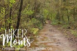 Croisan Scenic Trail, Salem, Oregon, Easy Hike, Stroller, Kids, mud