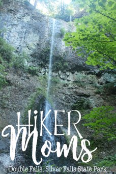 Huge falls, Double Falls, Silver Falls, State Park, Silverton, Oregon, Salem, Hike, HikerMoms,