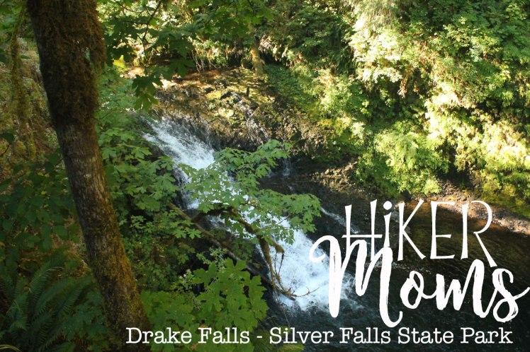 Drake Falls, Silverton, Oregon, Silver Falls, State Park, Salem