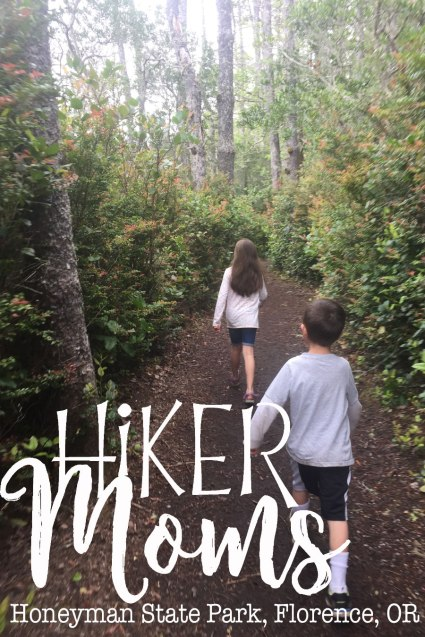 Cute Kids Nature Trail around Lake, Honeyman State Park, Oregon, State, Park, Boat, Paddle Boards, Hiking, Nature Trail, Sand Dunes