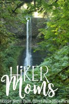 view, Middle North Falls, Silverton, Oregon, Salem, Silver Falls, Park, State