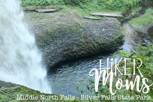 Middle North Falls, Silverton, Oregon, Salem, Silver Falls, Park, State