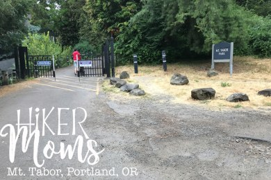 Mt Tabor, Portland, Trailhead, Oregon, Map, Trail, stroller, Park, View, HikerMoms, Hike, HikeOregon