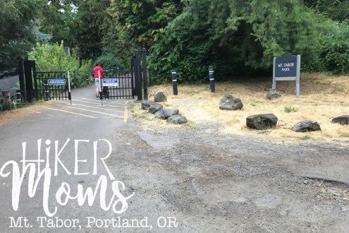 Mt Tabor, Portland, Trailhead, Oregon, Map, Trail, stroller, Park, View, HikerMoms, Hike, HikeOregon