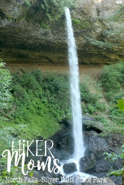 Enjoy, HikerMoms, huge, under the waterfall, Hike, Oregon, North Falls, Salem, Silverton, Silver Falls, Views, Stream