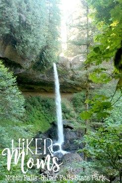 Enjoy, Gorgeous, HikerMoms, huge, under the waterfall, Hike, Oregon, North Falls, Salem, Silverton, Silver Falls, Views, Stream