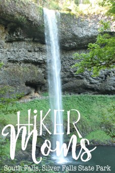 Silverton, Oregon, Silver Falls, State Park, South Falls, Waterfall, Hike, Mom, Kids