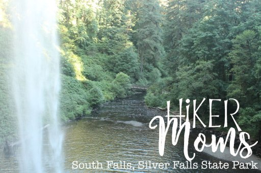 Silverton, Oregon, Silver Falls, State Park, South Falls, bridge, Waterfall, Hike, Mom, Kids