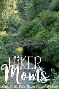 Hiker Moms, Silver Falls, Bridge, Waterfalls, Smooth Path, Tree Roots, State Park, Trail of ten falls, 10, Falls, Oregon, Salem, Silverton, River, Rocks, Beautiful, Hike