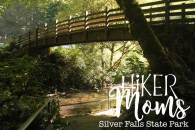 Hiker Moms, Silver Falls,Bridge over Water, Waterfalls, Smooth Path, Tree Roots, State Park, Trail of ten falls, 10, Falls, Oregon, Salem, Silverton, River, Rocks, Beautiful, Hike