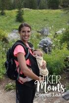 Cecret Lake Trail, Salt Lake City, Cottonwood Canyon, Hike, Backpack, Carrier, Infants, Hikermoms, Hiking, Trails, Group, Family, Kids, Mom, Dad