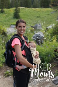 Cecret Lake Trail, Salt Lake City, Cottonwood Canyon, Hike, Backpack, Carrier, Infants, Hikermoms, Hiking, Trails, Group, Family, Kids, Mom, Dad
