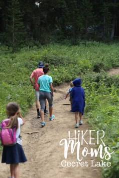 Cecret Lake Trail, Salt Lake City, Cottonwood Canyon, Hike, Hikermoms, Hiking, Trails, Group, Family